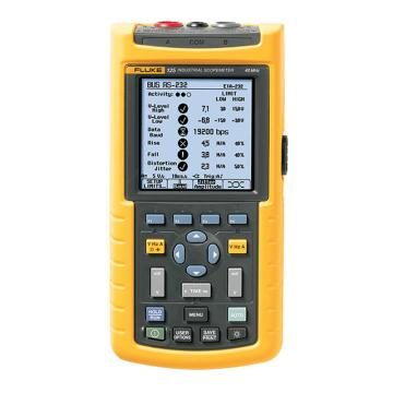 福禄克/FLUKE FLUKE-125工业网络测试仪 40MHz,FLUKE-125