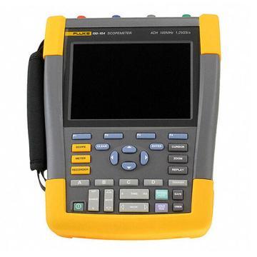 福禄克/FLUKE 彩色数字示波器,100MHz,4通道 DMM/外部输入,随附SCC-290套件,FLUKE-190-104/S