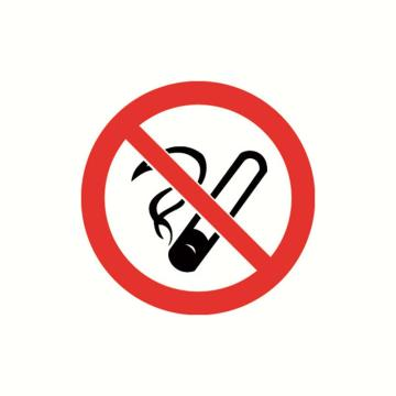 安赛瑞 GB安全警示标签-禁止吸烟,Ф100mm,32800,10片/包
