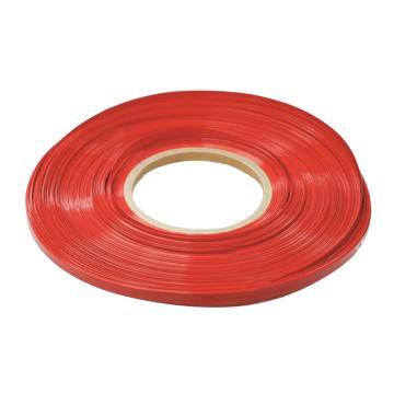 凯士士KSS 热收缩套管(扁型),HS-100RD 100mm*100m 红,100M/卷