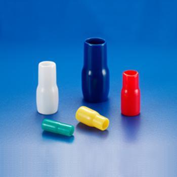 KSS 绝缘套管,V-1.25BE 适用1.25mm2端子 蓝 100个/包