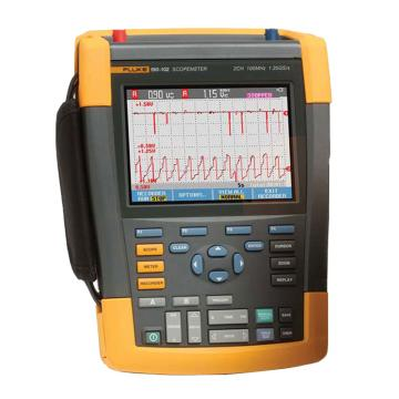 福禄克/FLUKE 彩色数字示波器,100MHz,2通道 DMM/外部输入,随附SCC-290套件,FLUKE-190-102/S