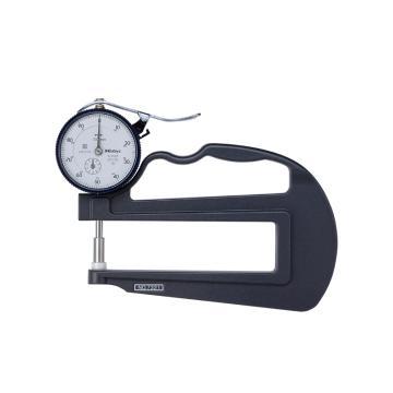 三豐 mitutoyo 厚度表,0-10mm,7321,不含第三方檢測