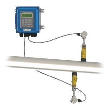 道盛/T-SONIC TUF-2000BTC超声波流量计,壁挂插入式,标准,TUF-2000BTC-1