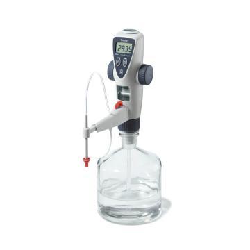 BRAND数字瓶口滴定器,Titrette® 50ml,标准,不含图中试剂瓶