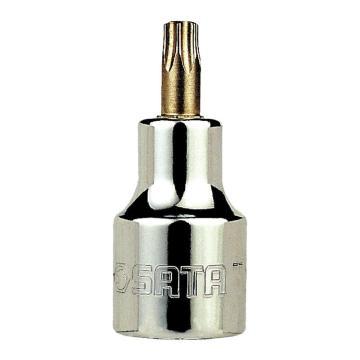 世达旋具套筒,12.5mm系列50mm长花形T-40,24105