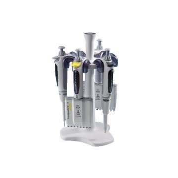 台式移液器架,圆形,适用于Transferpette® S 移液器及S-8/12多道移液器