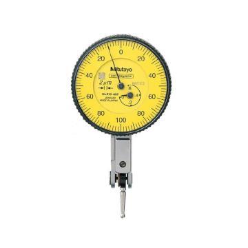 三丰 mitutoyo 杠杆千分表,0-0.6mm 水平型基本套装,513-425-10E(513-425E升级),不含第三方检测