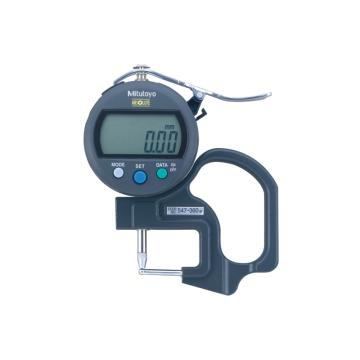 三丰 mitutoyo 数显厚度表,用于管壁厚度测量 547-360,0-10mm