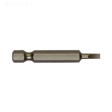 史丹利 6.3MM系列一字旋具头SL4.0x50mm(x10),63-012T-23