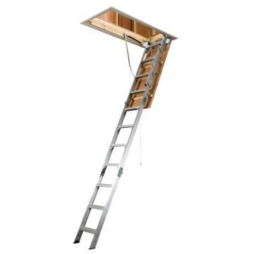 稳耐 折叠式阁楼梯,踏台数:11,额定载荷(KG):170,层高范围(米):2.34~3.12,AH2210B