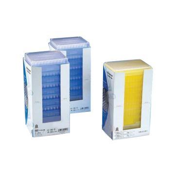 BRAND预装移液器吸头,Tip-Stack补充装,50-1000µl,未灭菌,符合IVD标准,96个/盒,10盒/箱