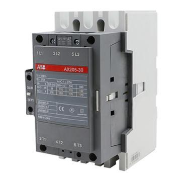 ABB接触器,AX205-30-11(AC220-230V50HZ/AC230-240V60HZ)