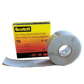 3M 电工胶带,Scotch 70# 灰 25mm×9.1m