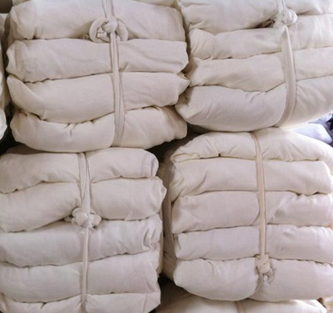 全棉白抹布,瞬间吸水性强 10kg/捆