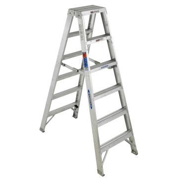 稳耐 双侧人字梯,踏台数:7 额定载荷(KG):136 工作高度(米):1.5,T377CN
