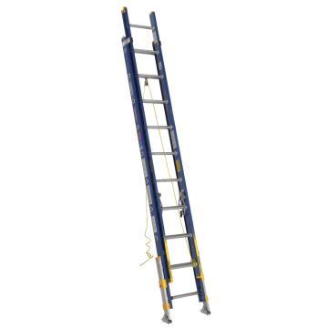 稳耐 绝缘两节延伸梯(带平衡器),踏台数:20,额定载荷(KG):136,工作高度(米):4.3,耐压(KV):35,D8220-2EQ