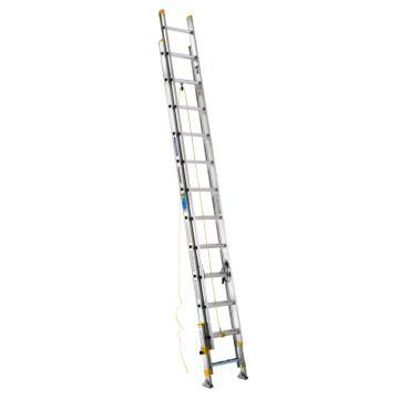 稳耐 2节延伸梯(带平衡器),踏台数:24,额定载荷(KG):102,工作高度(米):5.5,D1724-2EQ