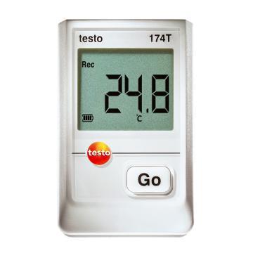 德图/Testo 迷你型温度记录仪 ,内置1通道,testo 174T,订货号:0572 1560