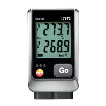 德图/Testo testo 175-T3温度记录仪,双通道温度数据记录仪,带2个外置热电偶接口