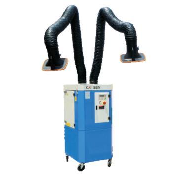 凯森 双臂移动式智能型烟尘净化器,KSZ-3.0D,吸气量4000m³/h±100m³/h,电机功率3KW