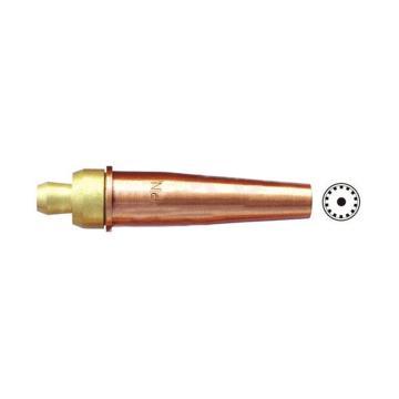 捷锐3-GPN型美式丙烷割嘴,型号:6-3-GPN,中型,规格6,丙烷用