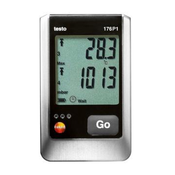 德图/Testo 温湿度及压力记录仪,testo 176-P1,订货号:0572 1767