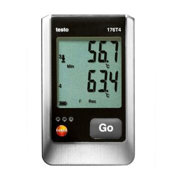 德图/Testo testo 176-T4 温度记录仪,订货号:0572 1764