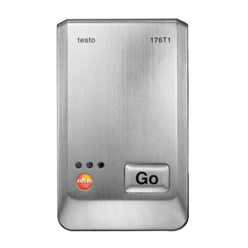 德图/Testo 温度记录仪,内置Pt100高精度温度传感器,金属外壳,testo 176-T1,订货号:0572 1761