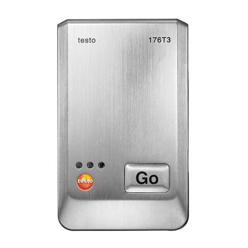 德图/Testo testo 176-T3温度记录仪,金属外壳 带有4个外接热电偶接口