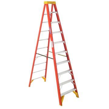 稳耐 绝缘单侧人字梯,踏台数:10 额定载荷(KG):136工作高度(米):2.5,6210CN
