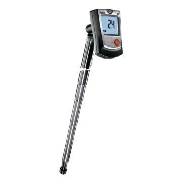 德圖/Testo 熱敏風速儀, 袖珍熱敏風速儀,帶管道支架,testo 405,訂貨號:0560 4053