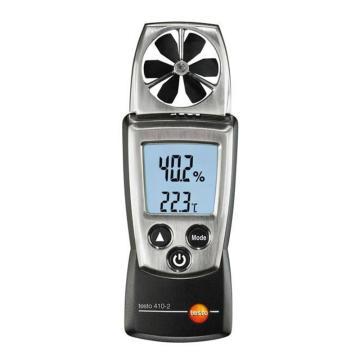 德图/Testo 袖珍叶轮式风速测量仪,带湿度测量探头和NTC温度测量,testo 410-2,订货号:0560 4102