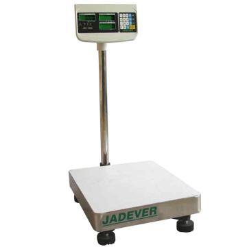 杰特沃 经济型计数电子台秤,150kg,最小感量10g