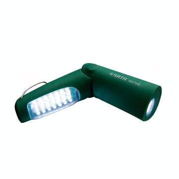 世达 90706A 两用折叠式充电式手电筒,26LED 单位:个