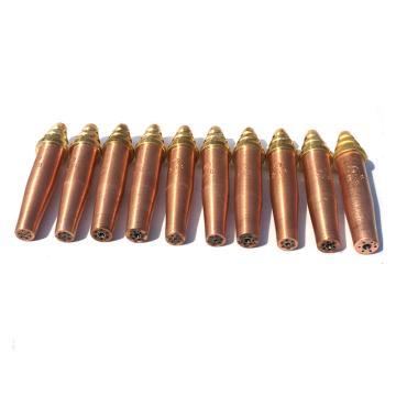 捷锐308型等压式乙炔快速割嘴,308-4,切割厚度:60-80mm,适用于中国G02型割炬及机用割炬