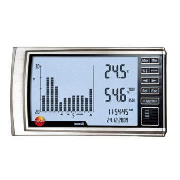 德图/Testo testo 623数字式温湿度记录仪,柱状图形显示
