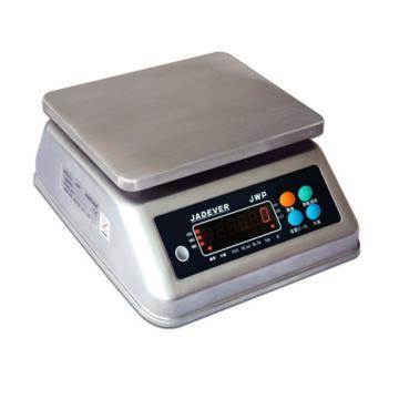杰特沃 单显不锈钢防水秤,3kg,最小感量0.2g/0.5g/1g