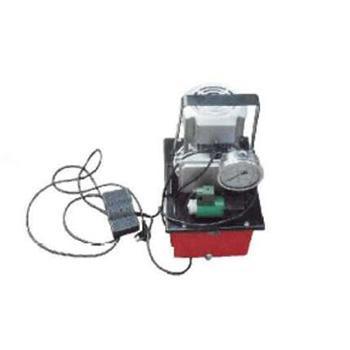 德克液压电动泵,工作压力:63MPA,流量:2.5(L/min),电压380/220V,功率:0.75KW,储油量:8L,DYB-8000E