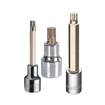 世达旋具套筒,12.5mm系列50mm长12角型 M-14,24806