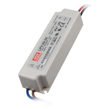 明纬 防水开关电源IP67,LPV-20-24