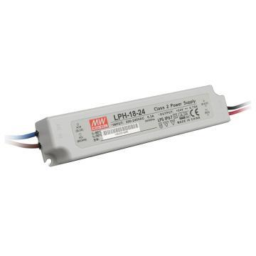 明纬 防水开关电源IP67,LPH-18-24