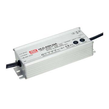 明纬 防水开关电源IP67/IP65,HLG-60H-24A