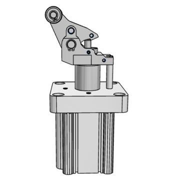 SMC 重載型止動氣缸,RS2H50-30TM