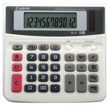 佳能 计算器 ,WS-220H 单位:台