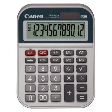 佳能 計算器,WS-112H 單位:臺
