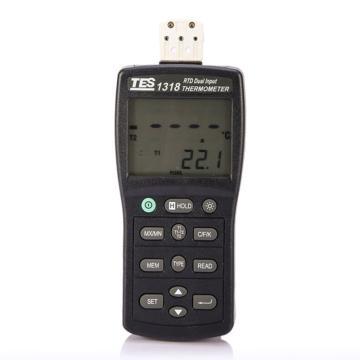 泰仕/TES 白金电阻温度表TES-1318