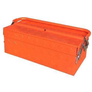 便携式带把手工具箱420×200×150mm(3抽)