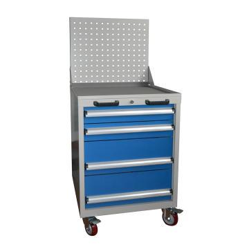 STORAGEMAID 四抽标准可移动工具车(带挂板)566L*600D*1315Hmm