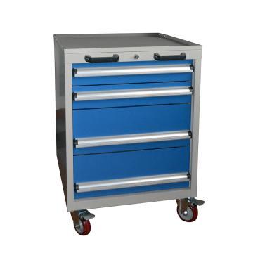 四抽标准可移动工具车 566L*600D*835Hmm